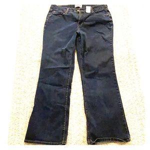 Levi signature bootcut jeans 16p perfect